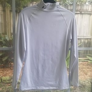 Under Armour Fitted Mock Turtleneck Top Medium